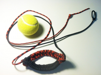 Split Pouch Tennis Ball Thrower (You choose COLORS)